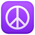 ☮️ peace symbol Emoji on Facebook Platform