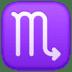 ♏ Scorpio Emoji on Facebook Platform