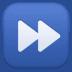⏩ fast-forward button Emoji on Facebook Platform