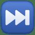 ⏭️ next track button Emoji on Facebook Platform