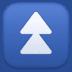 ⏫ fast up button Emoji on Facebook Platform