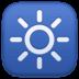 🔆 bright button Emoji on Facebook Platform