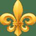 ⚜️ fleur-de-lis Emoji on Facebook Platform