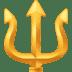 🔱 trident emblem Emoji on Facebook Platform