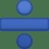 ➗ division sign Emoji on Facebook Platform