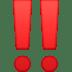 ‼️ double exclamation mark Emoji on Facebook Platform