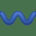 〰️ wavy dash Emoji on Facebook Platform