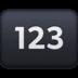 🔢 input numbers Emoji on Facebook Platform