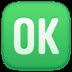 🆗 OK Button Emoji on Facebook Platform