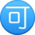 "🉑 Japanese ""acceptable"" button Emoji on Facebook Platform"