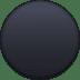 ⚫ Black Circle Emoji on Facebook Platform