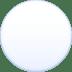 ⚪ white circle Emoji on Facebook Platform