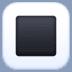 🔳 white square button Emoji on Facebook Platform