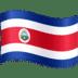 🇨🇷 flag: Costa Rica Emoji on Facebook Platform
