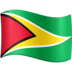 🇬🇾 flag: Guyana Emoji on Facebook Platform