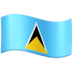 🇱🇨 St. Lucia Flag Emoji on Facebook Platform