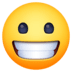 😀 grinning face Emoji on Facebook Platform