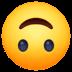 🙃 Upside Down Face Emoji on Facebook Platform