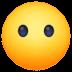 😶 face without mouth Emoji on Facebook Platform