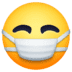 😷 face with medical mask Emoji on Facebook Platform
