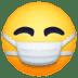 😷 Face With Medical Mask Emoji on Facebook Platform