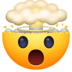 🤯 exploding head Emoji on Facebook Platform
