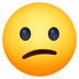 😕 confused face Emoji on Facebook Platform