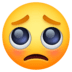 🥺 Pleading Face Emoji on Facebook Platform