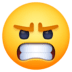 😠 angry face Emoji on Facebook Platform