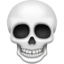 💀 Skull Emoji on Facebook Platform
