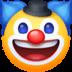 🤡 जोकर का चेहरा फेसबुक प्लेटफ़ॉर्म पर इमोजी