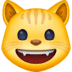 😺 grinning cat Emoji on Facebook Platform