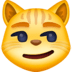 😼 cat with wry smile Emoji on Facebook Platform