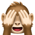 🙈 see-no-evil monkey Emoji on Facebook Platform