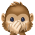 🙊 speak-no-evil monkey Emoji on Facebook Platform