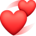 💞 revolving hearts Emoji on Facebook Platform