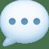 💬 Speech Balloon Emoji on Facebook Platform