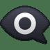 👁️🗨️ eye in speech bubble Emoji on Facebook Platform