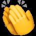 👏 Klatschende Hände Emoji auf der Facebook-Plattform