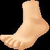 🦶🏼 foot: medium-light skin tone Emoji on Facebook Platform