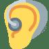 🦻 ear with hearing aid Emoji on Facebook Platform