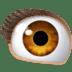 👁️ Ojo Emoji en plataforma Facebook
