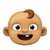 👶🏽 baby: medium skin tone Emoji on Facebook Platform