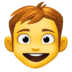 👦 Boy Emoji on Facebook Platform