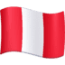 🇵🇪 flag: Peru Emoji on Facebook Platform