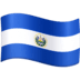 🇸🇻 flag: El Salvador Emoji on Facebook Platform