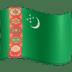 🇹🇲 flag: Turkmenistan Emoji on Facebook Platform