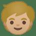 🧒🏼 child: medium-light skin tone Emoji on Google Platform