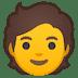 🧑 person Emoji on Google Platform