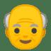 👴 Old Man Emoji on Google Platform